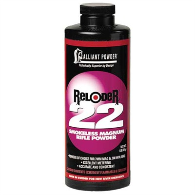 Reloader 22 Powder - Reloder 22 Smokeless Powder 1 Lb.
