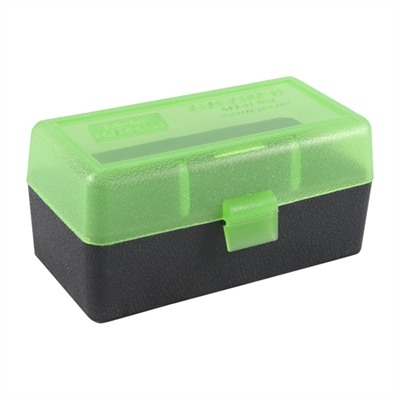 Mtm Rifle Ammo Boxes - Ammo Boxes Rifle Green/Black 22 Benchrest Rem-353 Rem 50