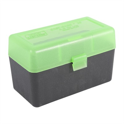 Mtm Rifle Ammo Boxes - Ammo Boxes Rifle Green & Black 30-06 Springfield 50
