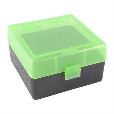 Mtm Rifle Ammo Boxes - Ammo Boxes Rifle Green & Black 223 Remington 100