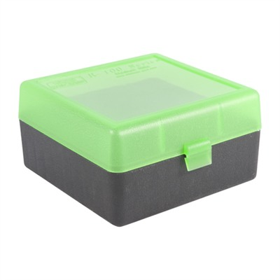 Mtm Rifle Ammo Boxes - Ammo Boxes Rifle Green/Black 223 Rem- 308 Winchester 100