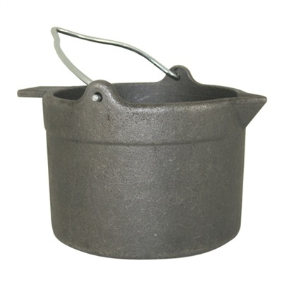 Lyman 10 Lb. Cast Iron Lead Pot - 10 Lb Cast Iron Lead Pot