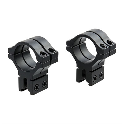 Bkl Tech 300 Series 30mm Scope Rings - 30mm Double Strap Dovetail Rings, Black