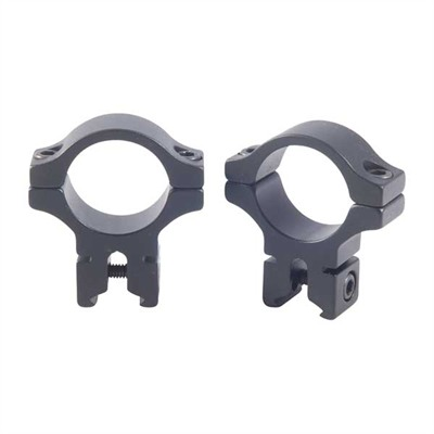 "200 Seroes 1"" Scope Rings - 1"" Dovetail Rings, Black"