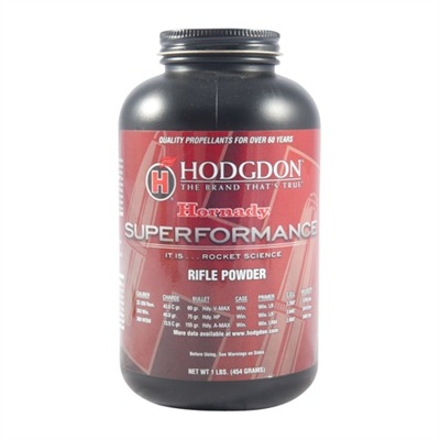 Hodgdon Superformance Smokeless Powder - Superformance Smokeless Powder 1 Lb