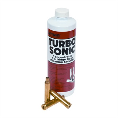 Lyman Turbo Sonic Cleaning Solutions And Accessories - Case Cleaning Solution 16oz