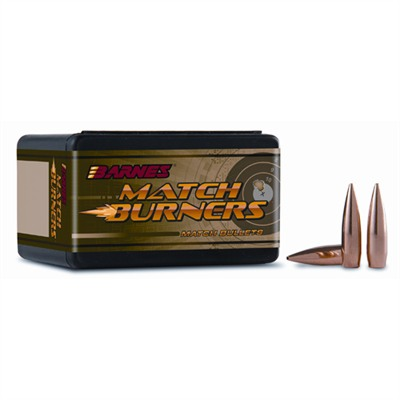 Barnes Match Burner Bullets - 30 Caliber (0.308