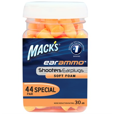 Mckeon Products, Inc. 749-012-670 Mack's Ear Plugs Ear Ammo - 44 Pair Jar