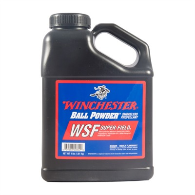 Winchester Super Field Smokeless Powder - Super-Field Smokeless Powder, 4 Lbs