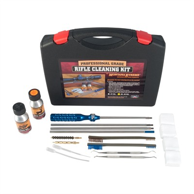 Montana X-Treme Professional Grade Cleaning Kits - .270-.50 Caliber Rifle Cleaning Kit
