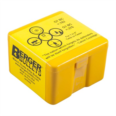 "Berger Tactical Bullets - 22 Caliber (0.224"") 77gr Open Tip Match /Box"