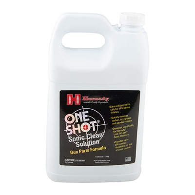 Hornady One Shot Sonic Clean Solutions - One Shot Sonic Clean Gun Parts Solution, 1 Gal.