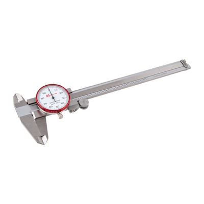 Hornady Dial Calipers - Steel Dial Calipers With Case