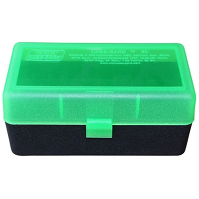 Mtm Rifle Ammo Boxes - Ammo Boxes Rifle Green & Black 219 Zipper - 458 Socom 50