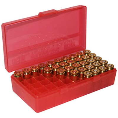 Pistol Ammo Box - Ammo Boxes Pistol Red 38-357 50