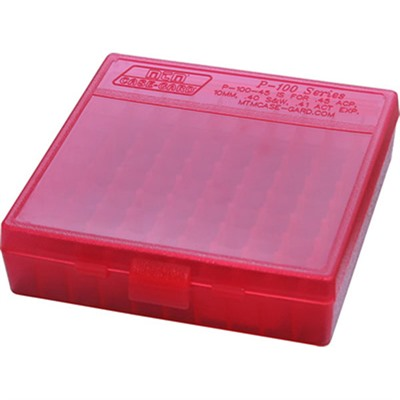Pistol Ammo Boxes - Ammo Boxes Pistol Red 9mm-380 100