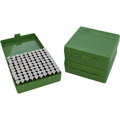 Mtm Pistol Ammo Boxes - Ammo Boxes Pistol Green 9mm-380 100