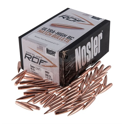 Nosler Rdf Reduced Drag Factor 6mm (0.243