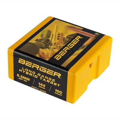 Berger Bullets 6.5mm Long Range Hybrid Target Bullets - 6.5mm (0.264
