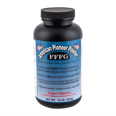 Fffg Granulated Black Powder Substitute - Fffg Black Powder Substitute 1 Lb.