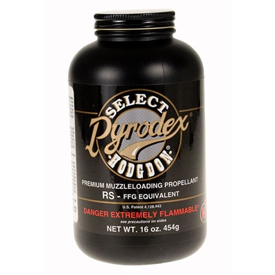 Hodgdon Powder Co. Pyrodex Select Granulated Powder - Pyrodex Select Rifle/Shotgun Powder 1 Lb.