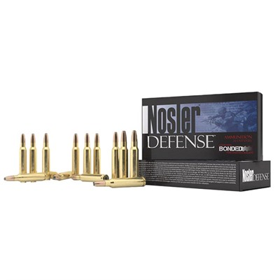 Nosler Defense Rifle Ammo