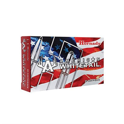 Hornady American Whitetail Ammo 7mm Remington Magnum 139gr Interlock Sp - 7mm Remington Magnum 139gr Interlock Spire Point 20/Box