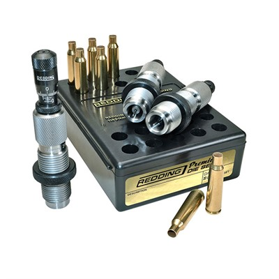 Redding Premium Deluxe Die Sets - 22-250 Remington Premium Deluxe Die Set