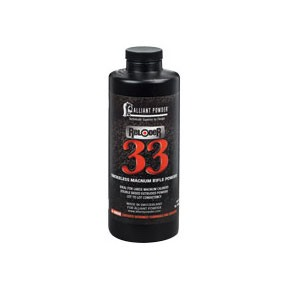 Reloader 33 Powder - Reloder 33 Smokeless Powder 1 Lb.