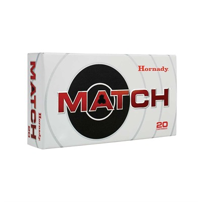 Hornady Match Ammo 6mm Creedmoor 108gr Eld Match - 6mm Creedmoor 108gr Eld Match 20/Box