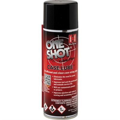 Hornady One Shot Spray Case Lube W/Dyna Glide Plus - 10 Oz. One Shot Case Lube