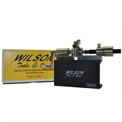 L.E. Wilson 50 Bmg Microstop Case Trimmer Kit