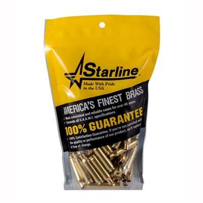 Starline, Inc 9x21mm Brass - 9x21mm Brass 100/Bag