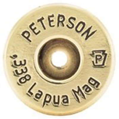 Peterson Cartridge 338 Lapua Magnum Brass - 338 Lapua Magnum Brass 50/Box