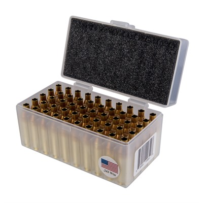 Peterson Cartridge 243 Winchester Brass - 243 Winchester Small Primer Brass 50/Box