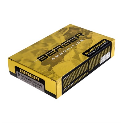 Berger Bullets Match Grade Target 300 Norma Magnum Ammo 300 Norma Magnum 215gr Hybrid Boat Tail 20/Box