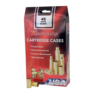 Hornady 28 Nosler Unprimed Brass Case - 28 Nosler Brass 20/Box