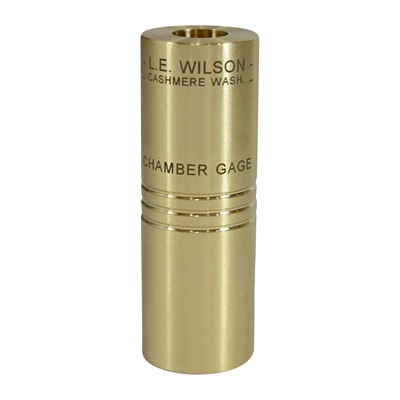 L.E. Wilson Brass Minimum Dimension Chamber Gages - 300 Aac Blackout Brass Minimum Chamber Gage
