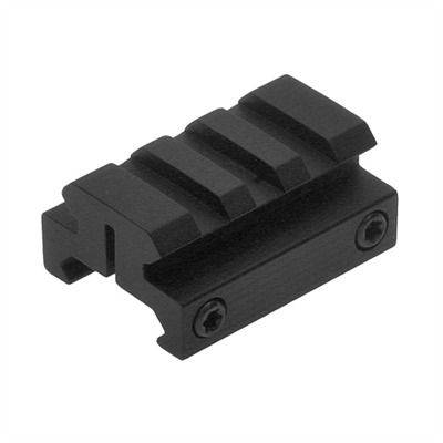 Ar Mount One-Half Inch Picatinny Riser - Matte