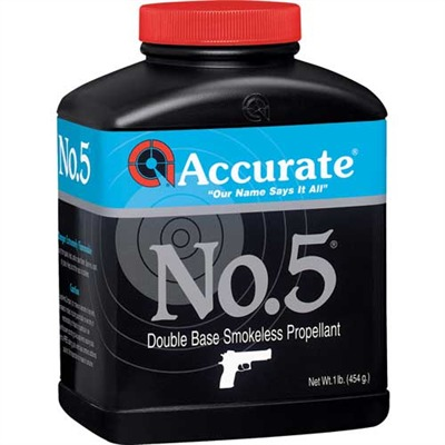 Accurate Powder 749-101-684 Accurate No.5 Powders
