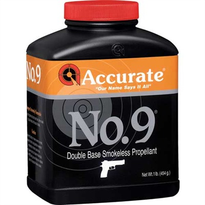 Accurate Np.9 Powders - Accurate No. 9 - 1 Lb