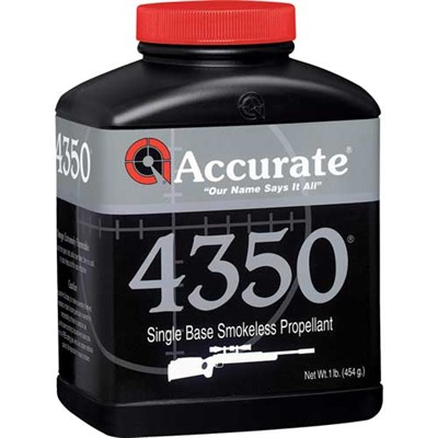 Accurate 4350 Powders - Accurate #4350 - 1 Lb