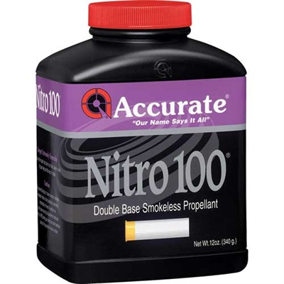 Accurate Nitro 100 Powders - Nitro 100 - 12 Oz