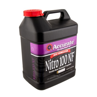 Accurate Nitro 100 Powders - Nitro 100 - 8 Lb