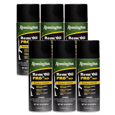 Remington Rem Oil Pro3 Msr 10 Oz Aerosol - Rem Oil Pro3 Msr 10oz Aerosol 6 Pack
