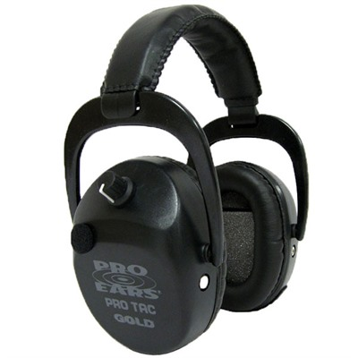 Pro Ears 773-000-035 Pro Tac Sc Gold Headsets