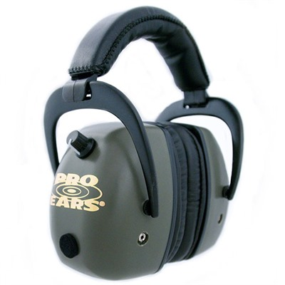 Pro Ears Gold Headsets - Pro Mag Gold Nrr 30 Green