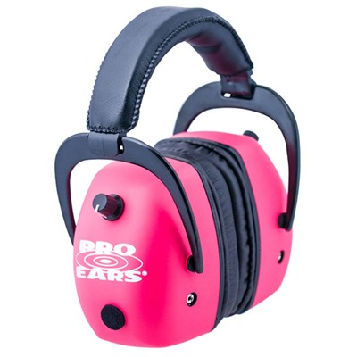 Pro Ears Gold Headsets - Pro Mag Gold Nrr 30 Pink