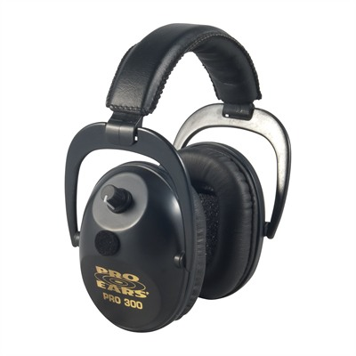 Predator Plus P-300p Electronic Muffs P300 Pro 300 Nrr 26 Black : Shooting Accessories by Pro Ears for Gun & Rifle