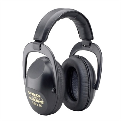 Ultra Series Passive Muffs Pro Ears Ultra 26 Passive Muff : Shooting Accessories by Pro Ears for Gun & Rifle
